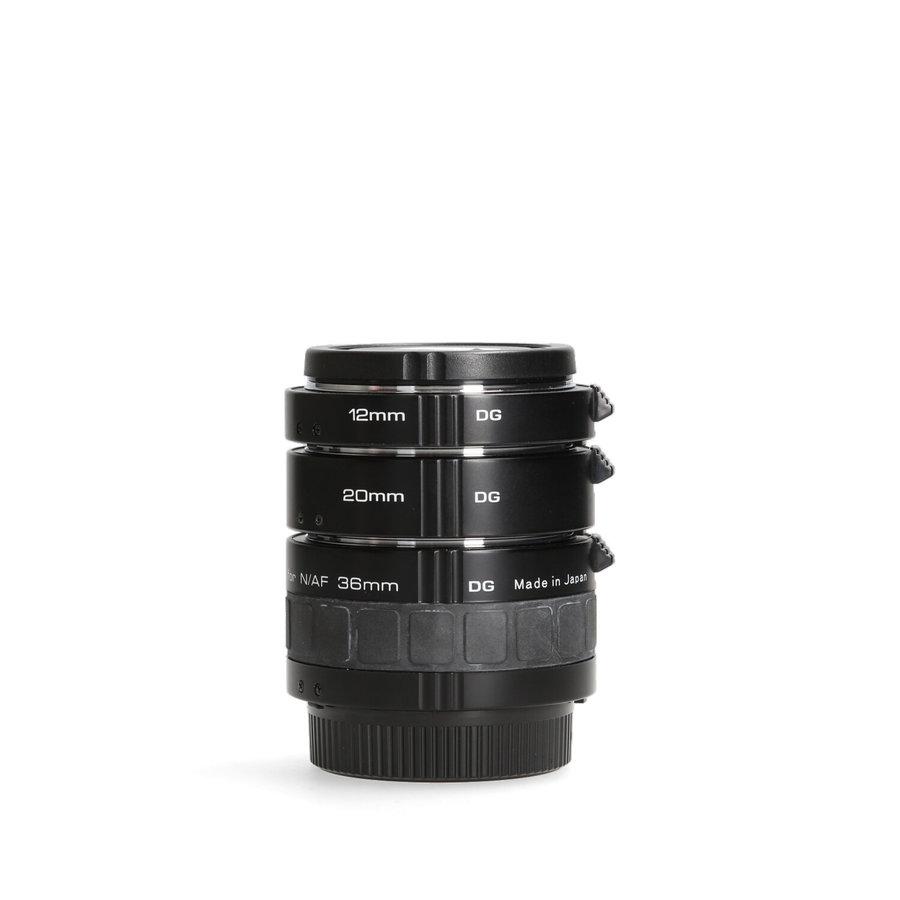 Soligor DG tussenringenset (Nikon) - N/AF 12/20/36