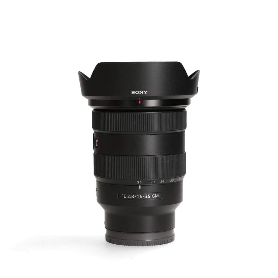 Sony FE 16-35mm 2.8 GM (Klein deukje)