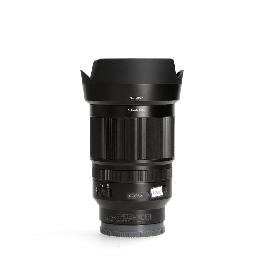 Sony Distagon T* 35mm 1.4 FE ZA objectief