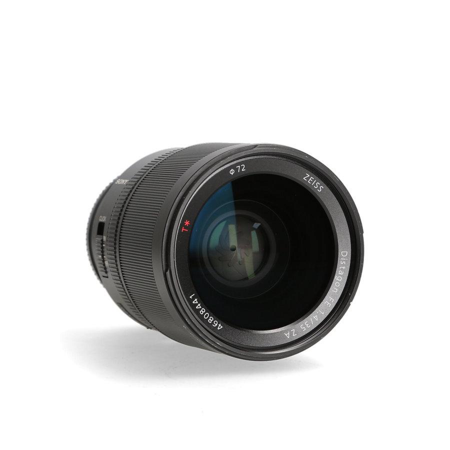 Sony  35mm 1.4 FE Distagon T ZA objectief