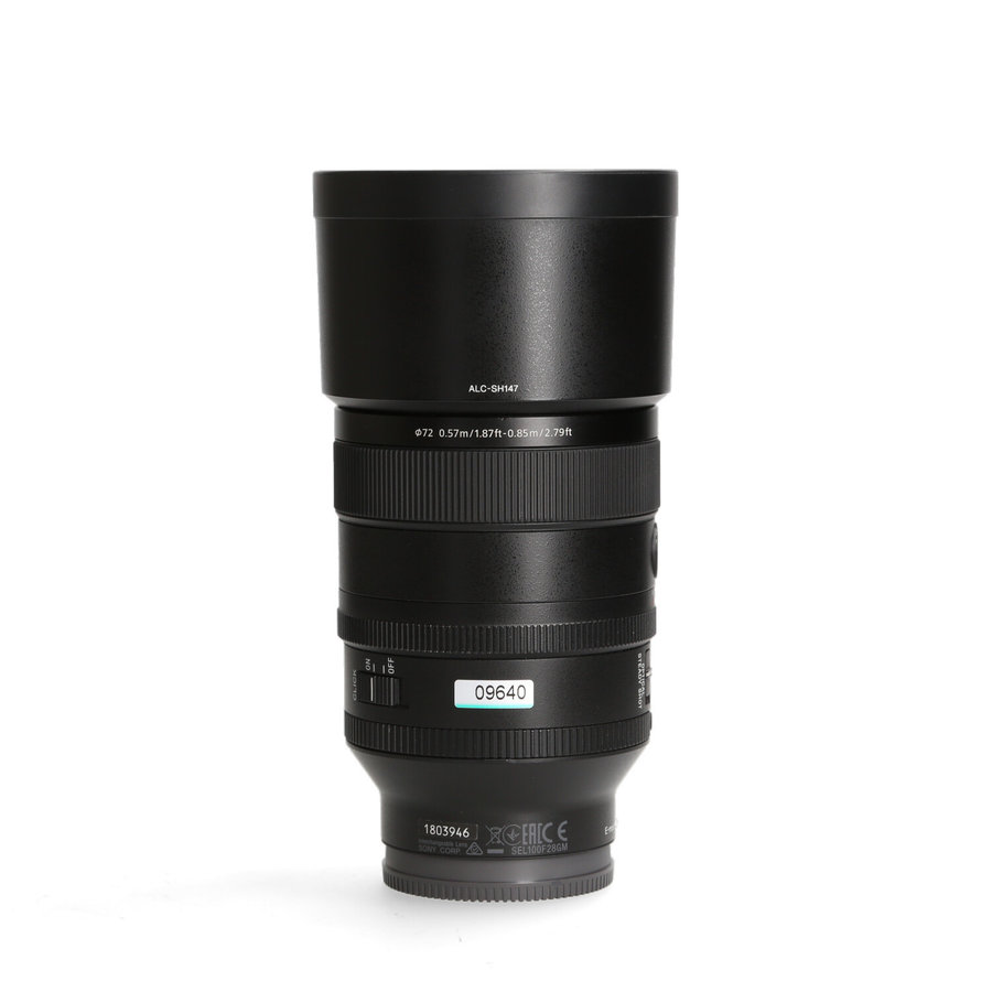 Sony 100mm 2.8 STF GM OSS SEL100F28GM.SYX