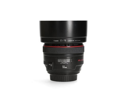 Canon 50mm 1.2 L EF USM -- Incl. BTW