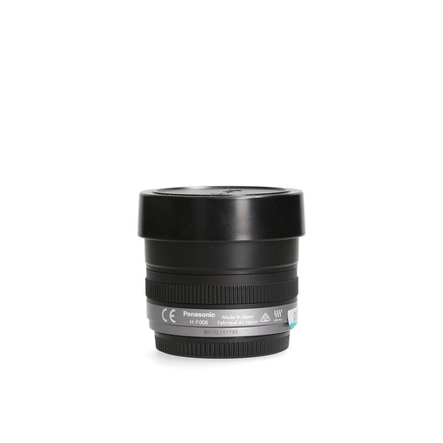 Panasonic Lumix G 8mm Fisheye F3.5