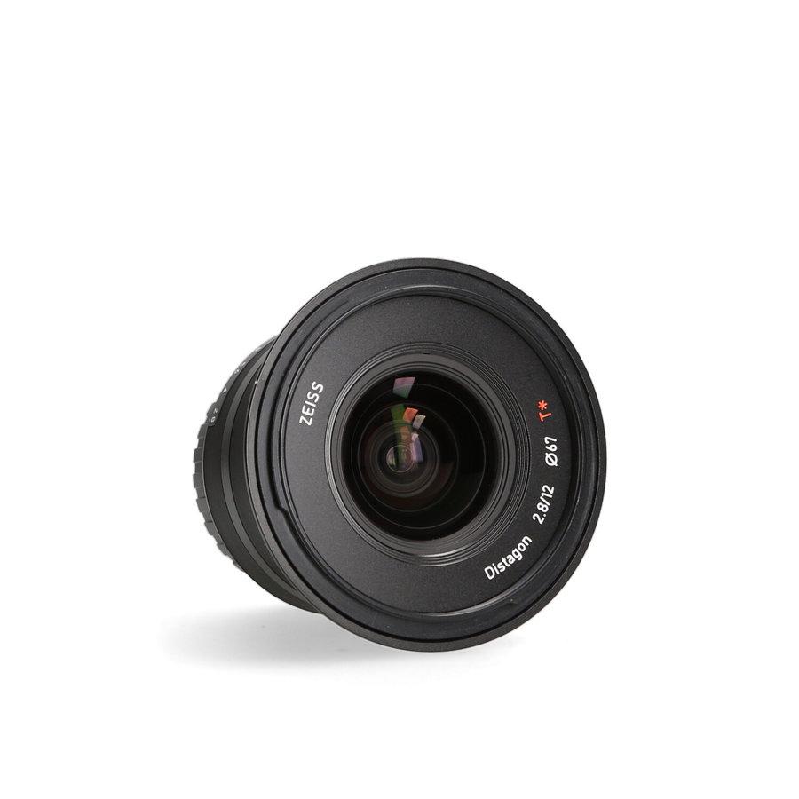 Zeiss Touit 12mm 2.8 X-Mount objectief (Fujifilm)