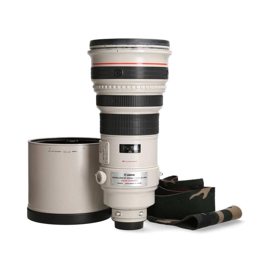 Canon 400mm 2.8 L EF IS USM (Mist koffer)