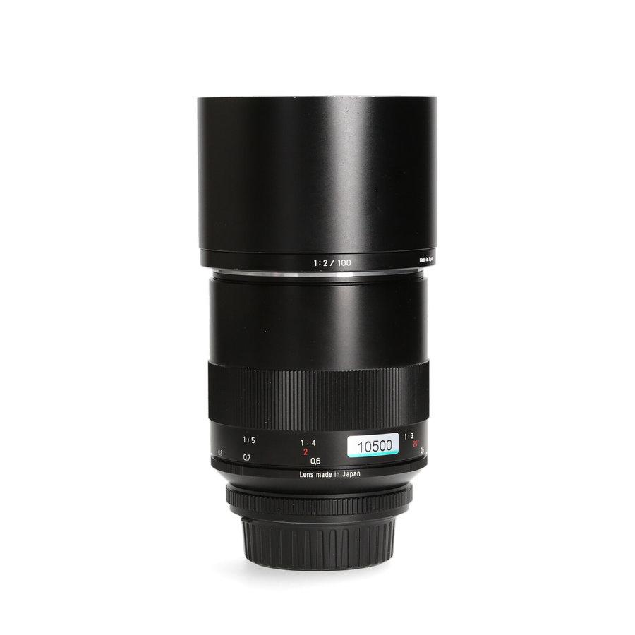 Zeiss 100mm 2.0 ZF Macro-Planar (Nikon)