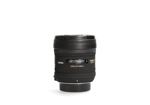 Sigma 4.5mm 2.8 EX DC HSM Circ. -- Nikon