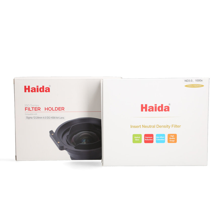 Sigma 12-24mm 4.0 DG HSM Art (Canon) + Haida Filterset twv €600