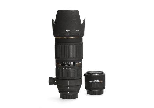 Sigma 70-200mm 2.8 APO DG (Nikon) + Teleconverter APO 2x EX DG