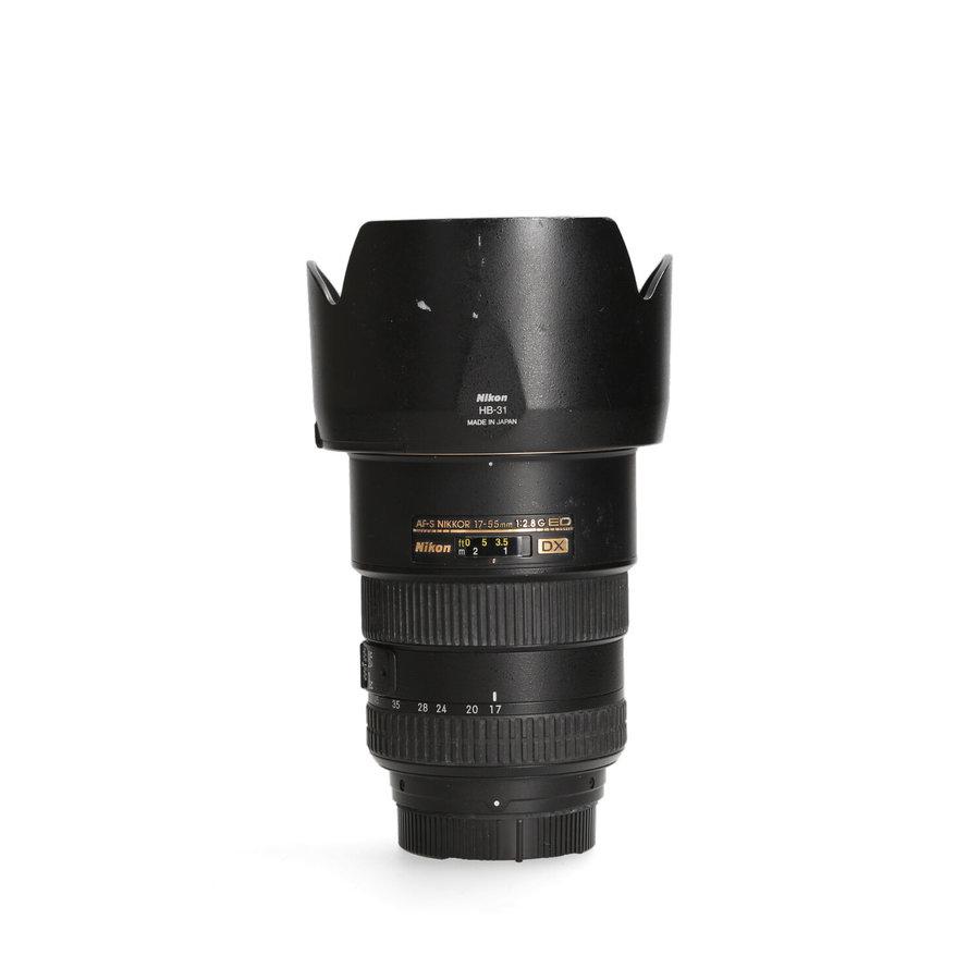 Nikon 17-55mm 2.8 AF-S DX (haperende autofocus)