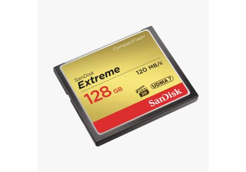 SanDisk Extreme 128gb 120 mb/s CF