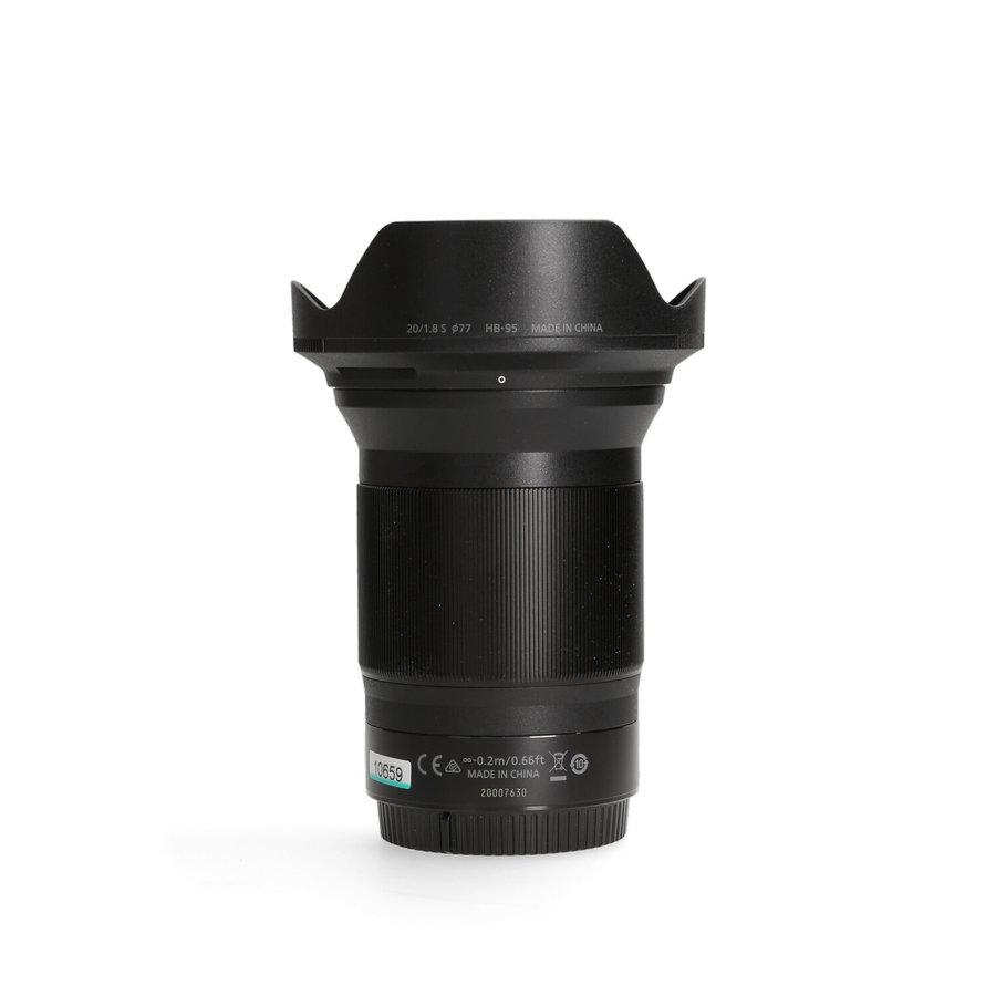 Nikon Z 20mm 1.8 S