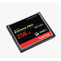 SanDisk 256B Compact Flash Card Extreme Pro (VPG65)