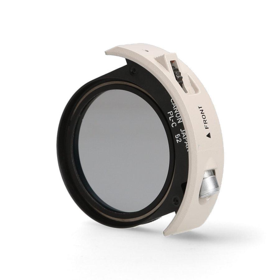 Canon PL-C 52 filter