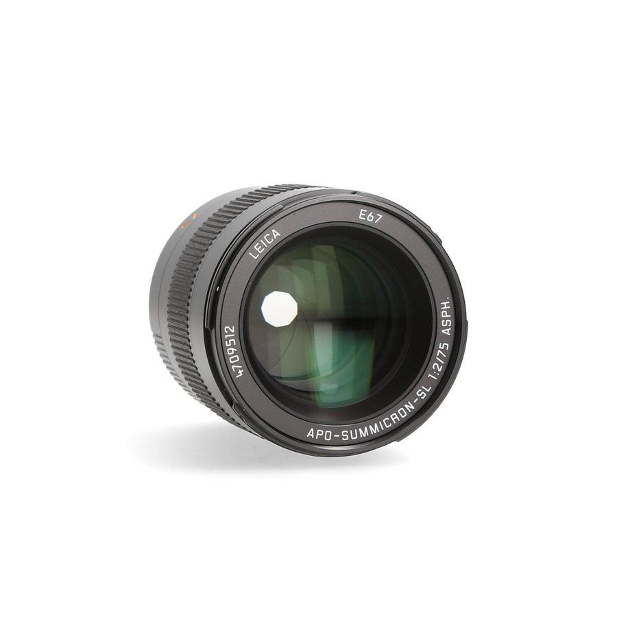 Leica 75mm 2.0 APO-Summicron- SL