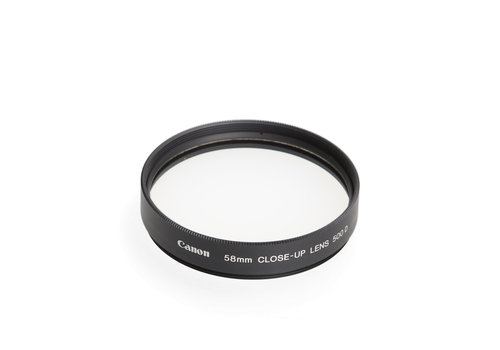 Canon 58mm Close-up Lens 500 D filter