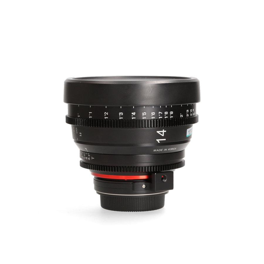 XEEN 14mm T3.1 Cine Canon EF Mount Lens