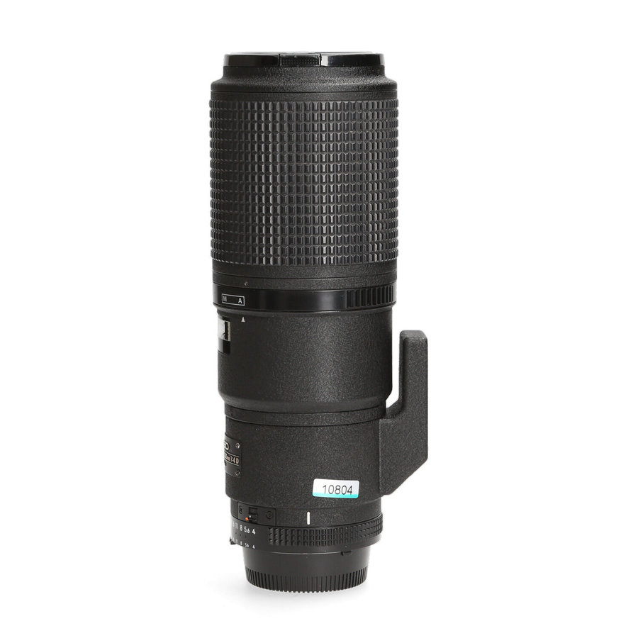 Nikon 200mm 4.0 AF-D Macro