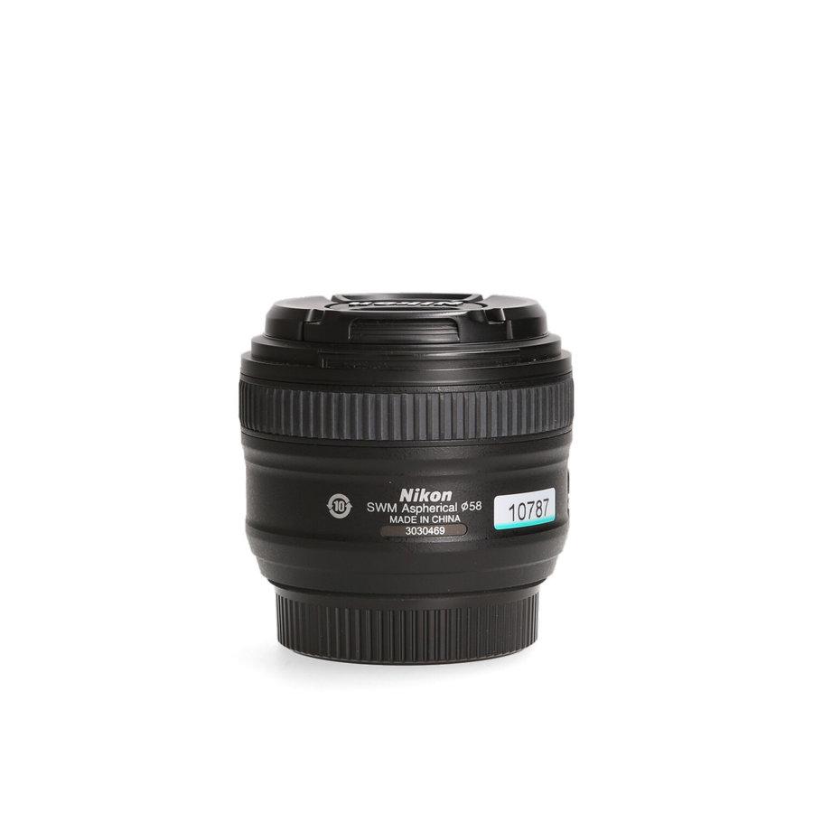 Nikon 50mm 1.8 G AF-S ED
