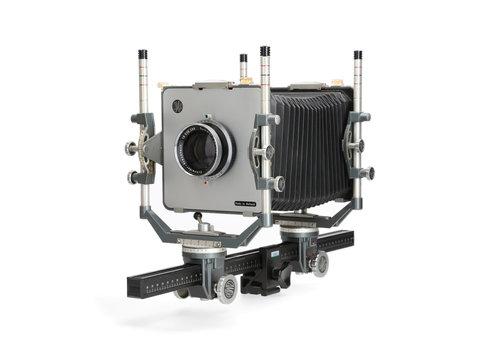 Cambo 4*5 inch camera met Schneider Kreuznach Symmar 240mm f5,6 lens