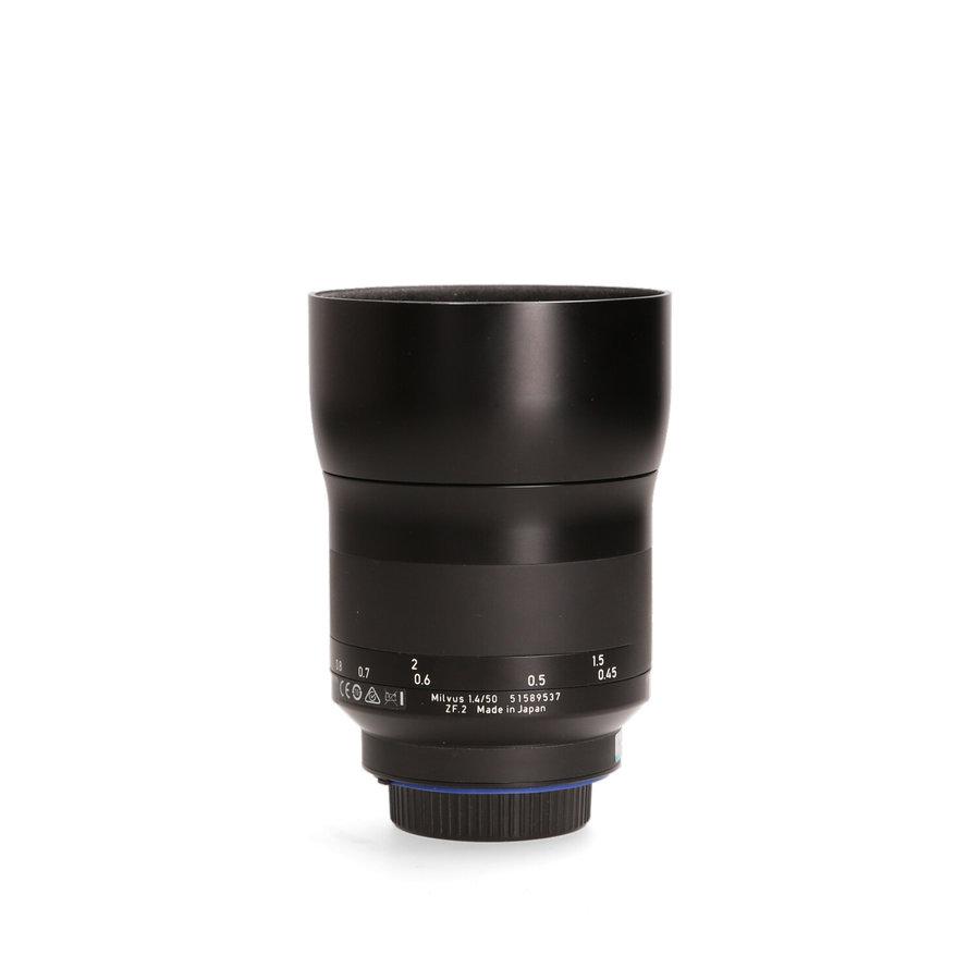 Zeiss Milvus 50mm 1.4 Distagon (Nikon)