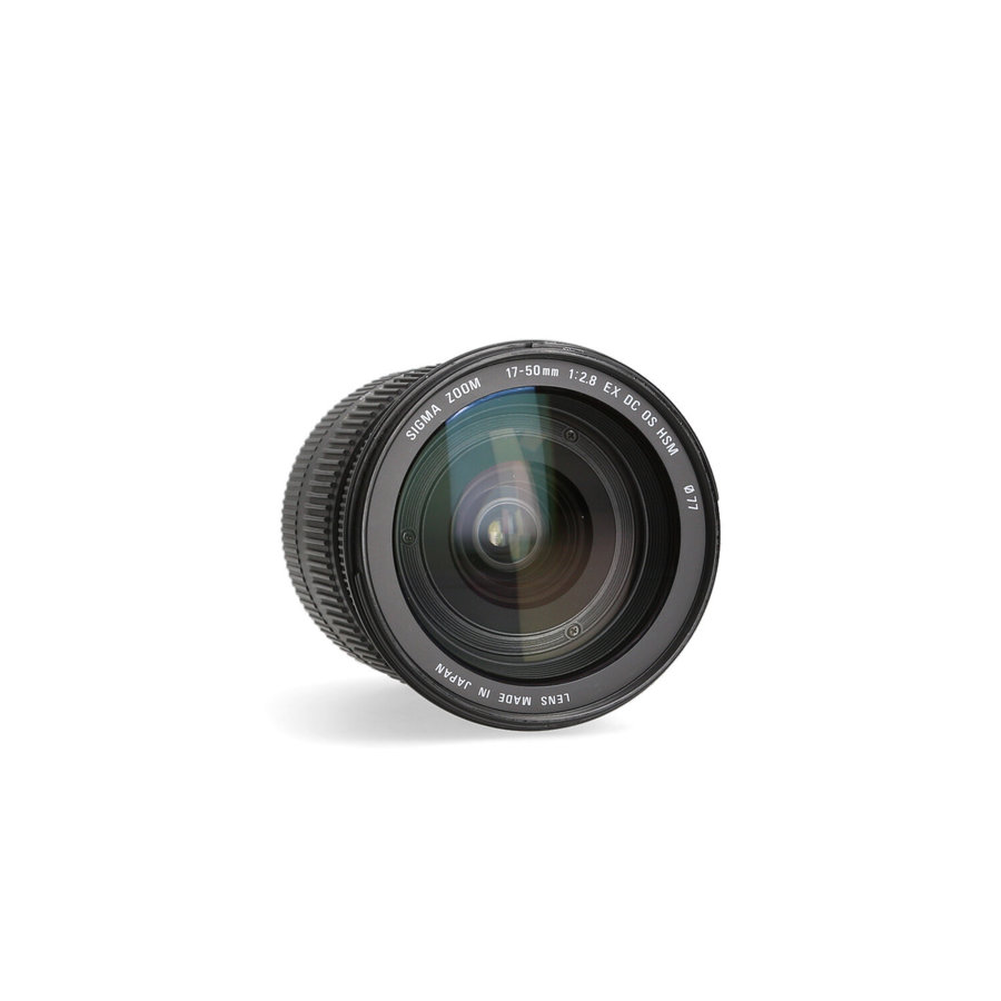 Sigma 17-50mm 2.8 DC EX HSM (Canon)