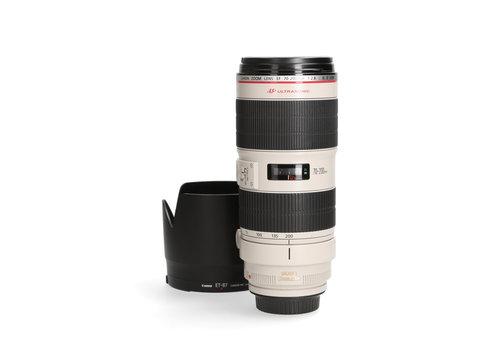 Canon 70-200mm 2.8 L EF IS II USM - Gereserveerd