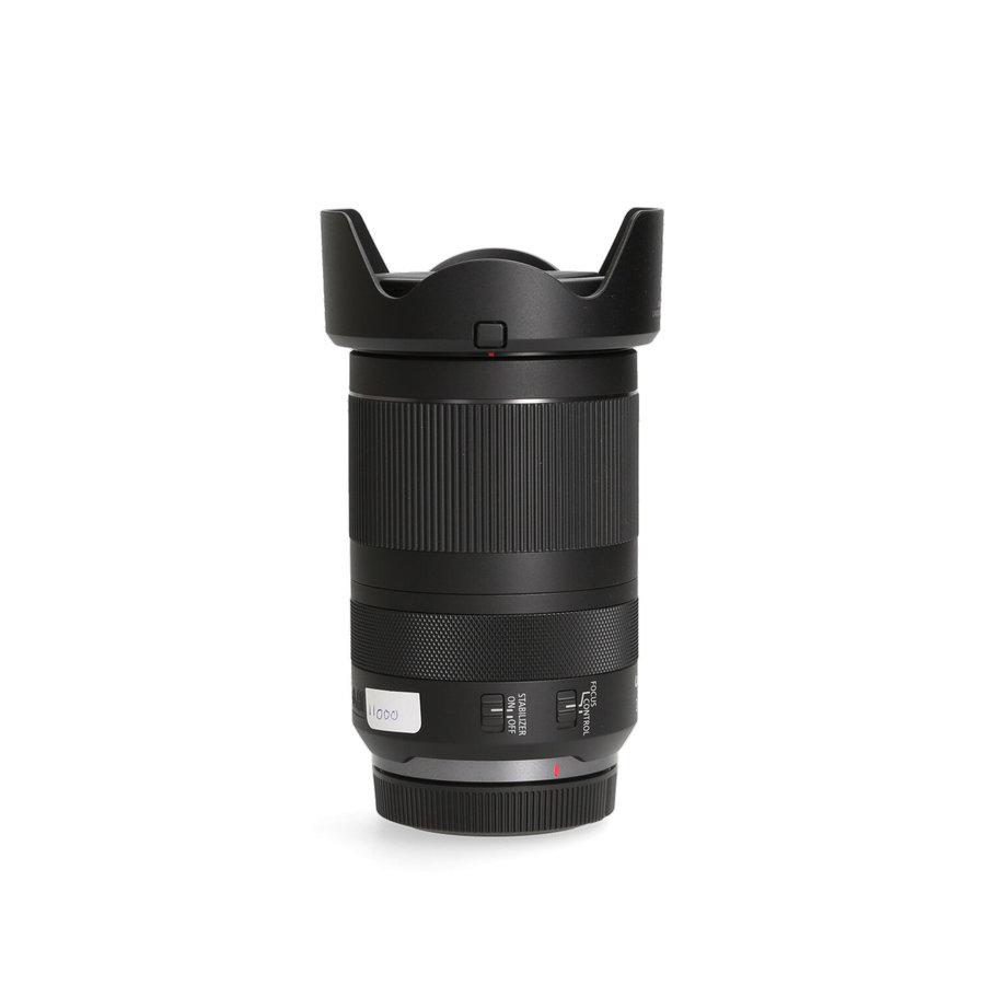 Canon 24-240 4-6.3 RF IS USM + zonnekap en Hoya uv-filter