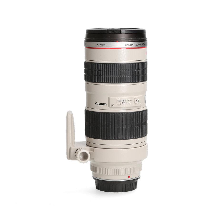 Canon 70-200mm 2.8  L EF USM - Gereserveerd