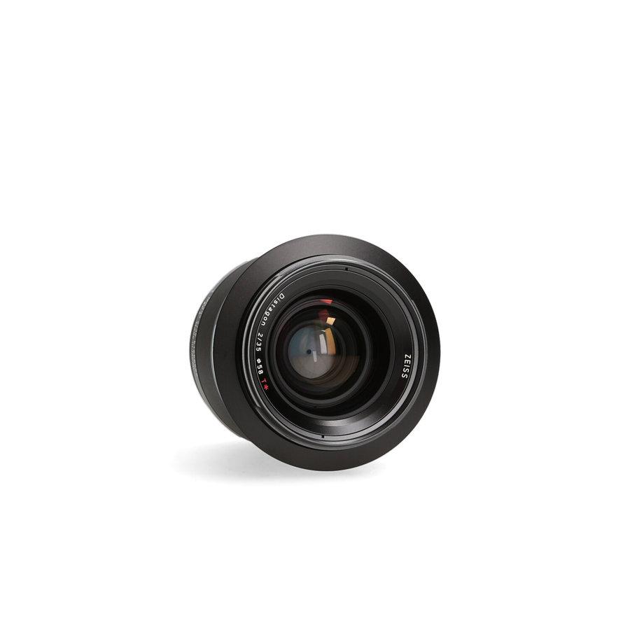 Zeiss Milvus 35mm 2.0 T* ZF2 (Nikon) (Outlet)