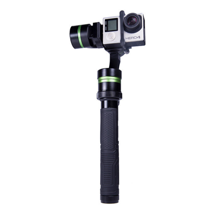 Lanparte LA3D Detachable Wired control gimbal for Gopro Hero 4 + GWCK-01 Gimbal Wireless Control Kit