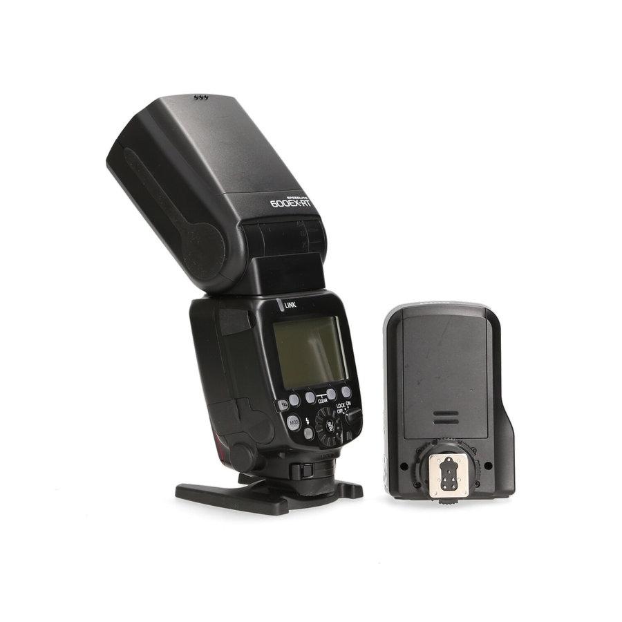 Canon 600EX-RT Speedlite + Pixel Ontvanger King Pro X