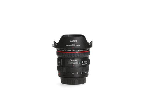 Canon EF 8-15mm 4.0 L USM