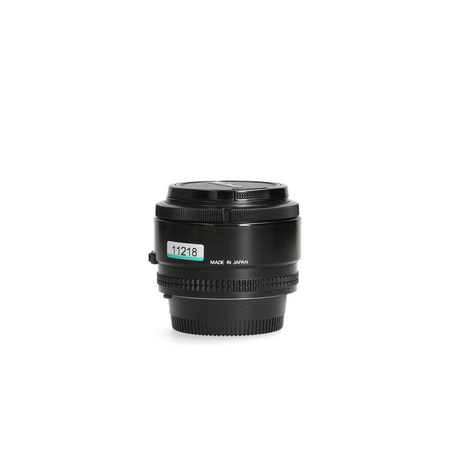 Nikon AF 50mm 1.4