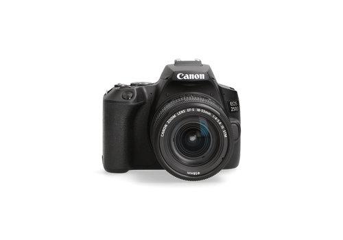 Canon 250D + 18-55mm lens