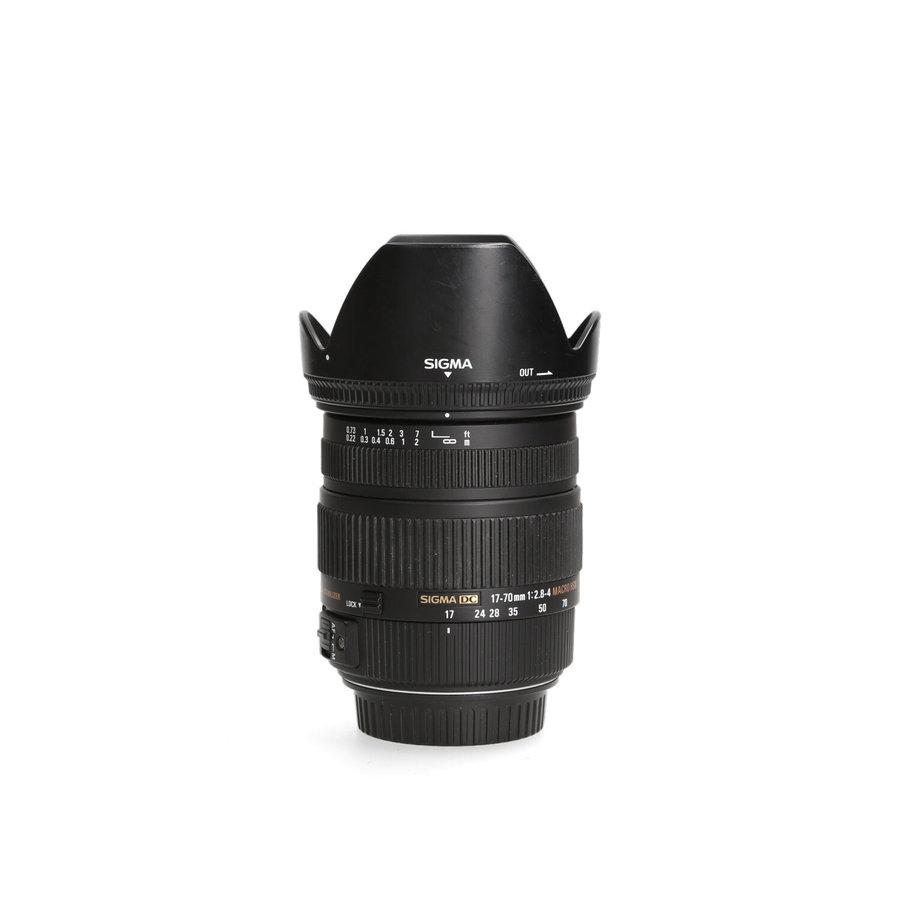 Sigma 17-70mm 2.8-4 DC Macro OS HSM (Canon)