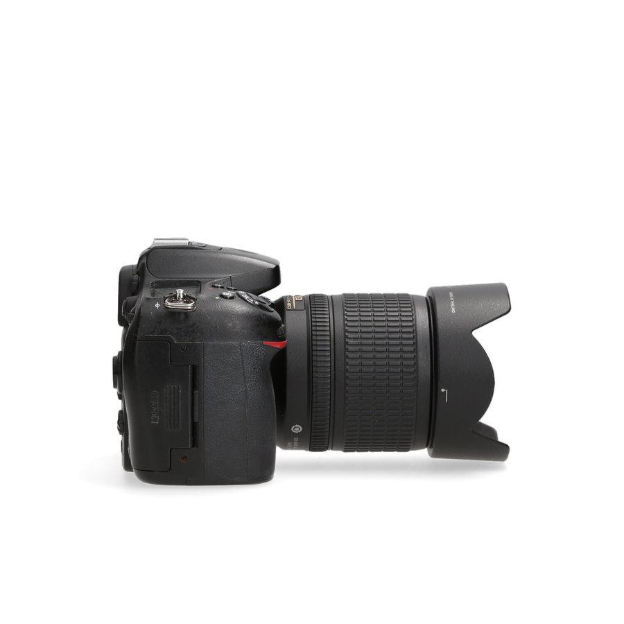 Nikon D7100 + 18-105mm - 62.644 kliks