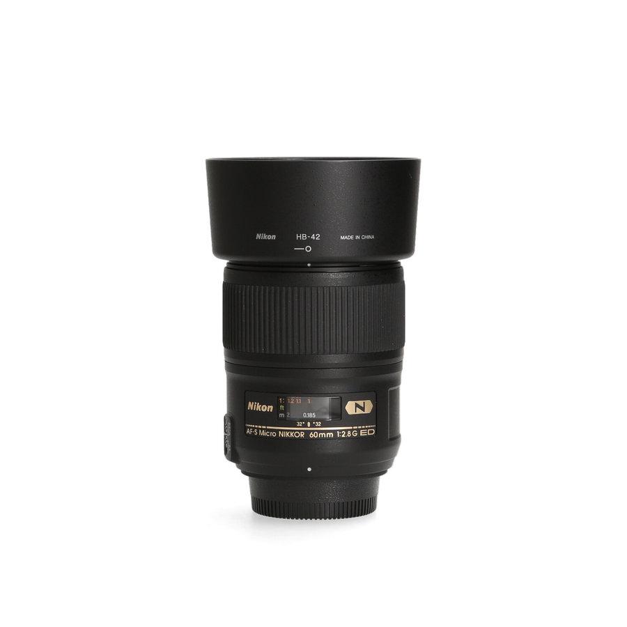 Nikon AF-S 60mm 2.8G ED Micro - Gereserveerd