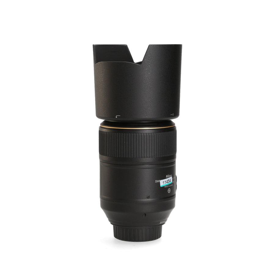 Nikon 105mm 2.8 G ED AF-S VR Macro