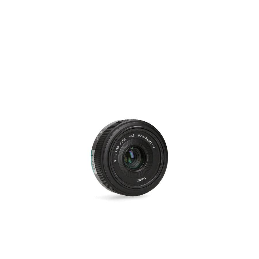 Panasonic 20mm 1.7 ASPH