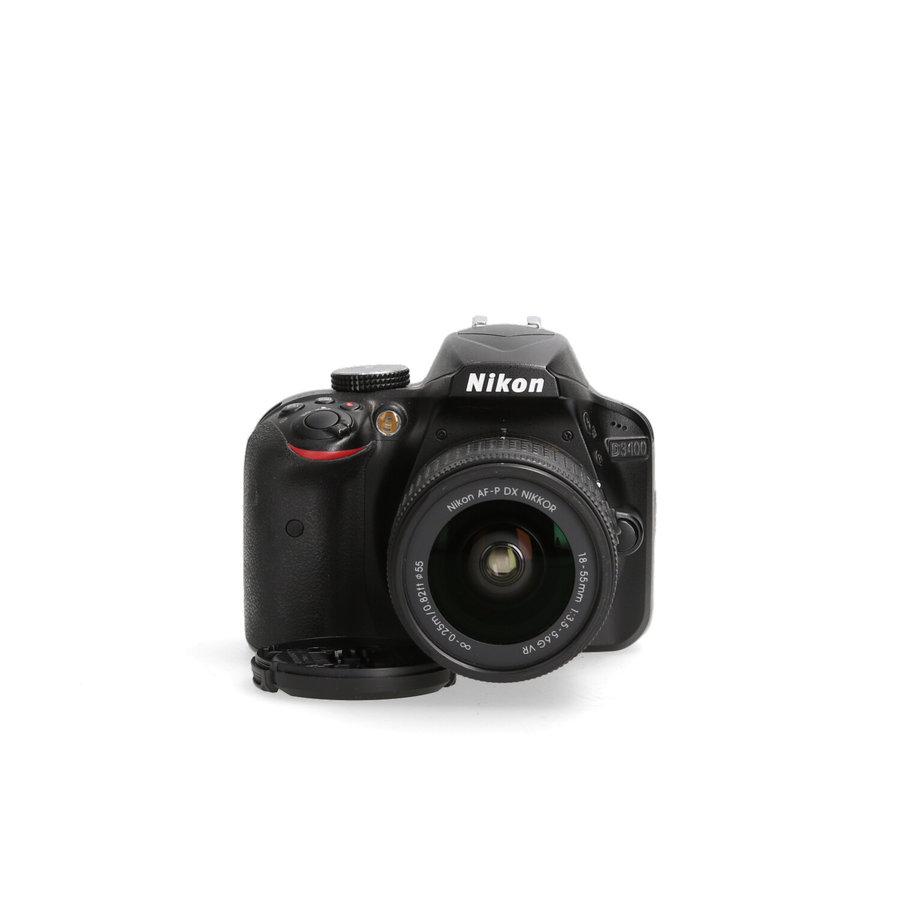Nikon D3400 met 18-55mm AF-P