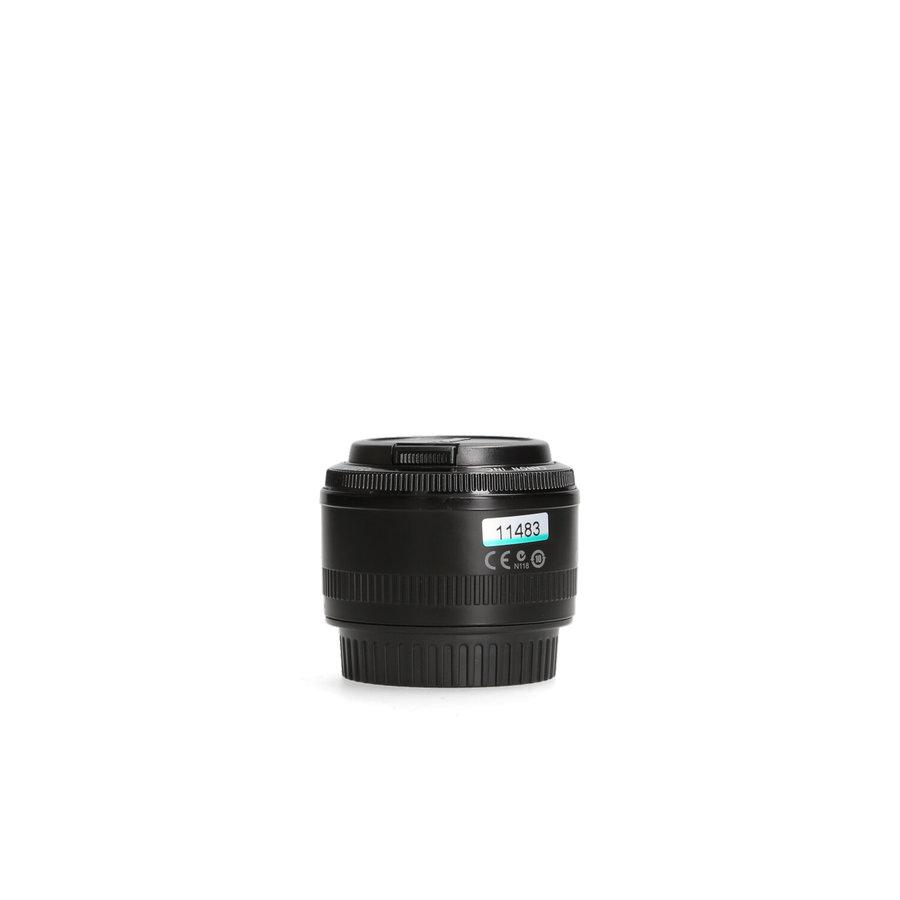 Canon EF 50mm 1.8 II
