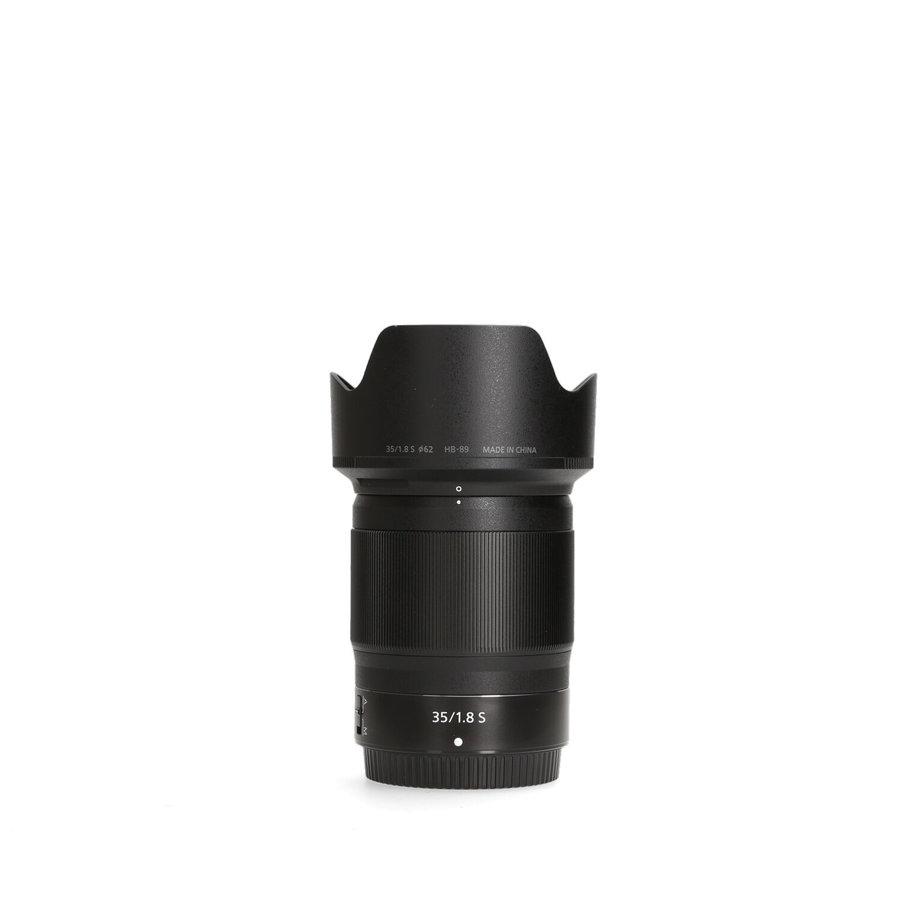 Nikon Z 35mm 1.8 S