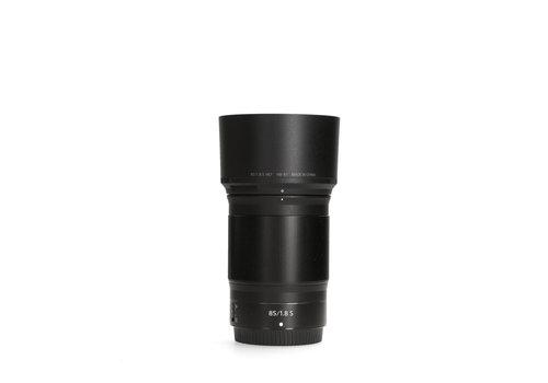 Nikon Z 85mm 1.8 S - Gereserveerd