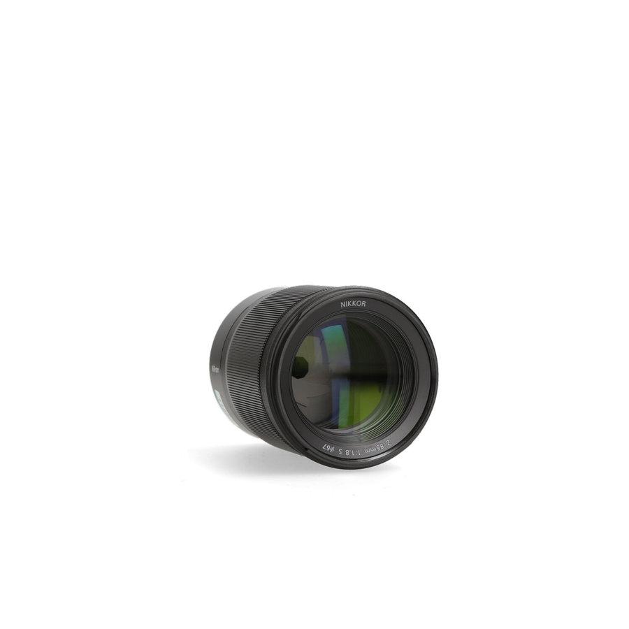 Nikon Z 85mm 1.8 S