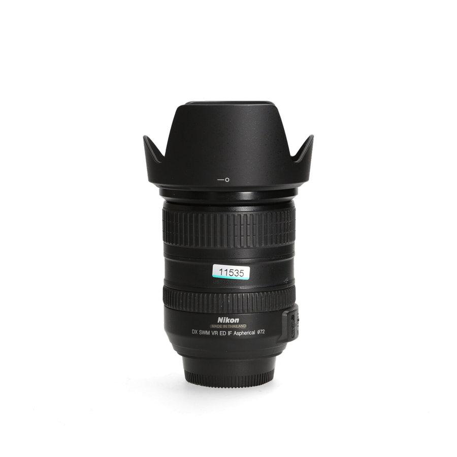 Nikon 18-200mm 3.5-5.6 AF-S G DX - Gereserveerd