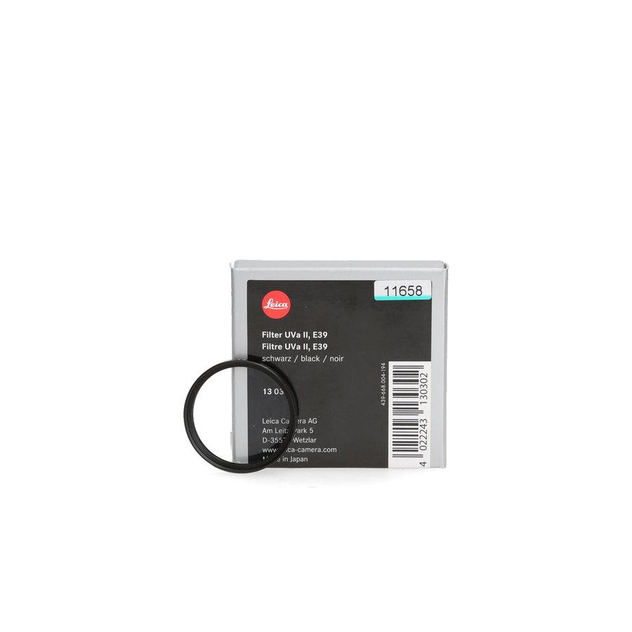 Leica Uva II E39 filter