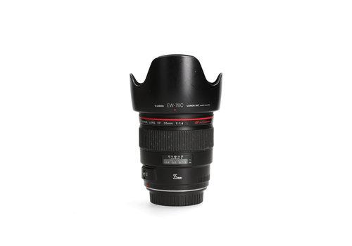 Canon EF 35mm 1.4 L USM - Incl. BTW