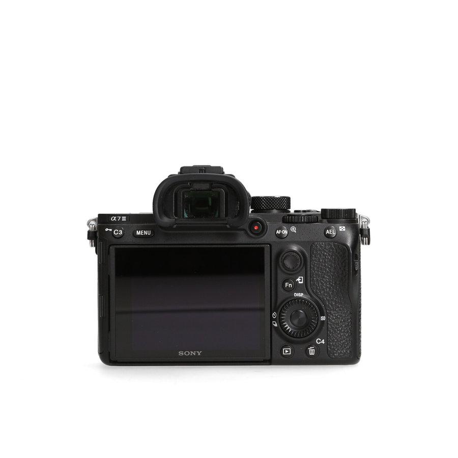 Sony A7 III - 44.900 kliks Incl. 21% BTW