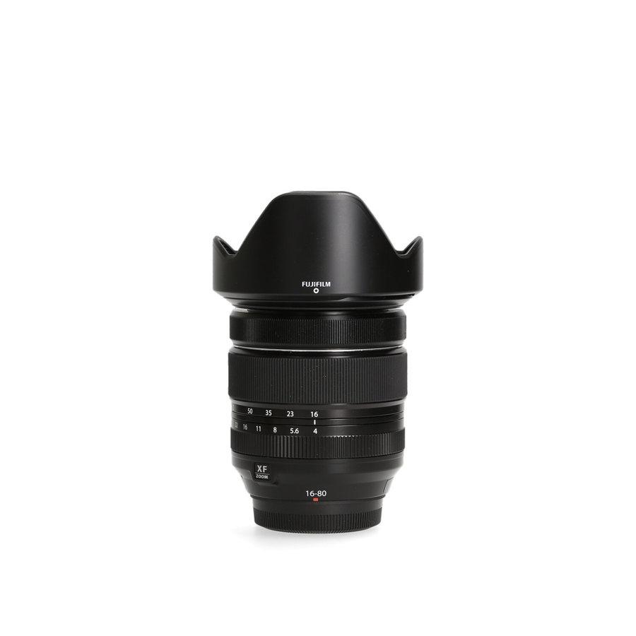 Fujifilm XF 16-80mm 4.0 R OIS WR
